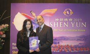 Actor and Dialect Coach Is Refreshed by Shen Yun's Universal Messages