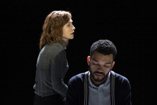 THE MOTHER Isabelle Huppert,and Justice Smith