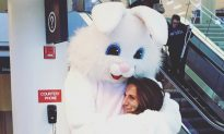Man Brings Back Bunny Costume Theme For 20th Wedding Anniversary