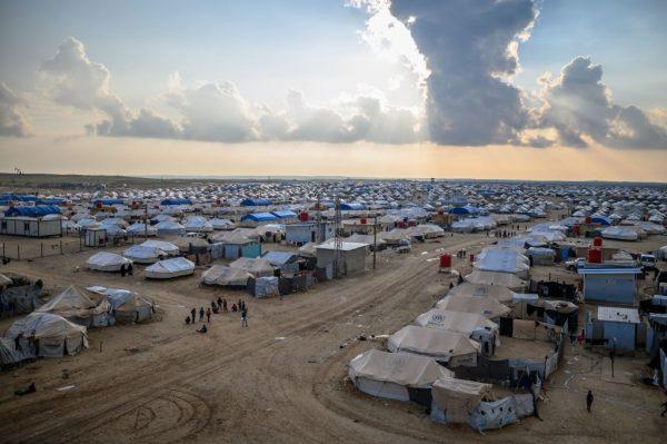 al-Holm refugee camp