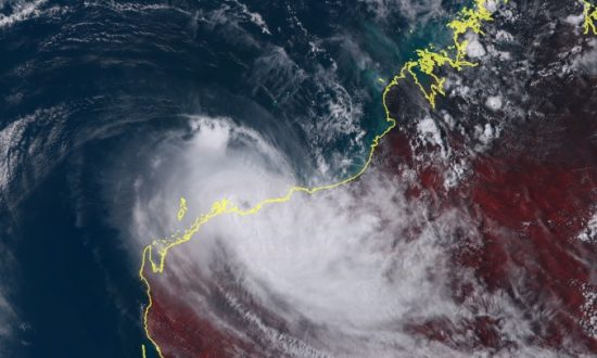 Residents Bunker Down as Cyclone Veronica Makes Landfall as Category 3 Storm