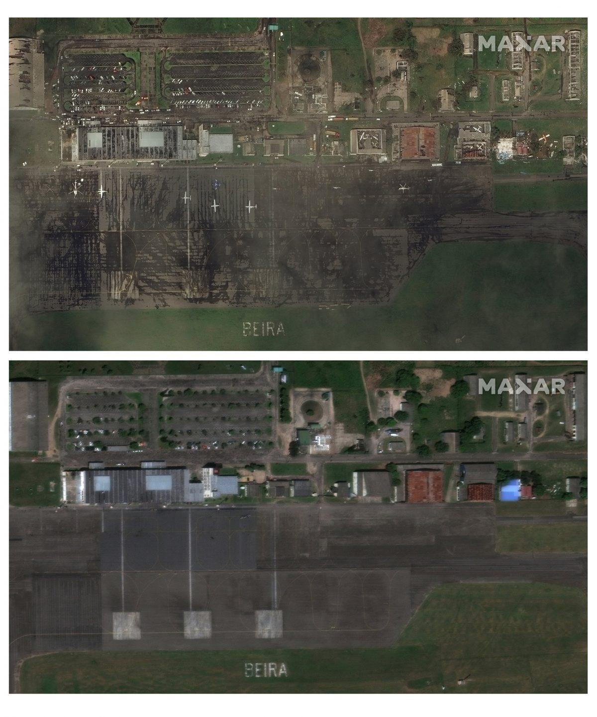 Before and After Cyclone Idai