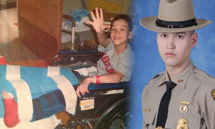 Cadet With Cerebral Palsy Becomes Third-Generation State Trooper: 'Look How Far He's Come'