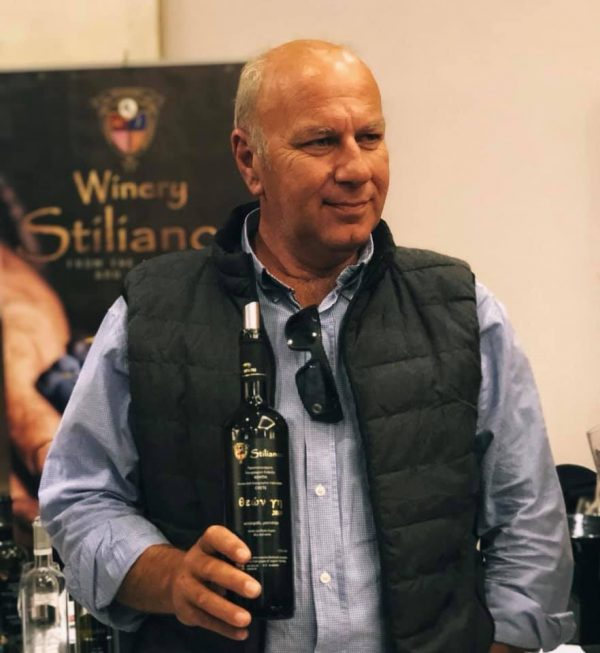 Ioannis Stilianou winemaker in crete