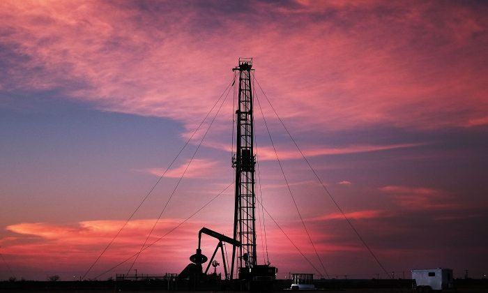 An oil drill in Midland,Texas, on Feb. 5, 2015.   Spencer Platt/Getty Images