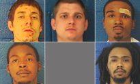 5 Inmates Escape N. Carolina Jail, 2 Captured