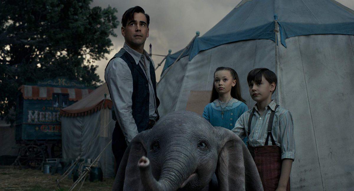 family and elephant