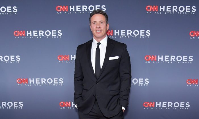 Chris Cuomo attends the 12th Annual CNN Heroes: An All-Star Tribute at American Museum of Natural History on December 9, 2018 in New York City.  (Michael Loccisano/Getty Images for CNN )