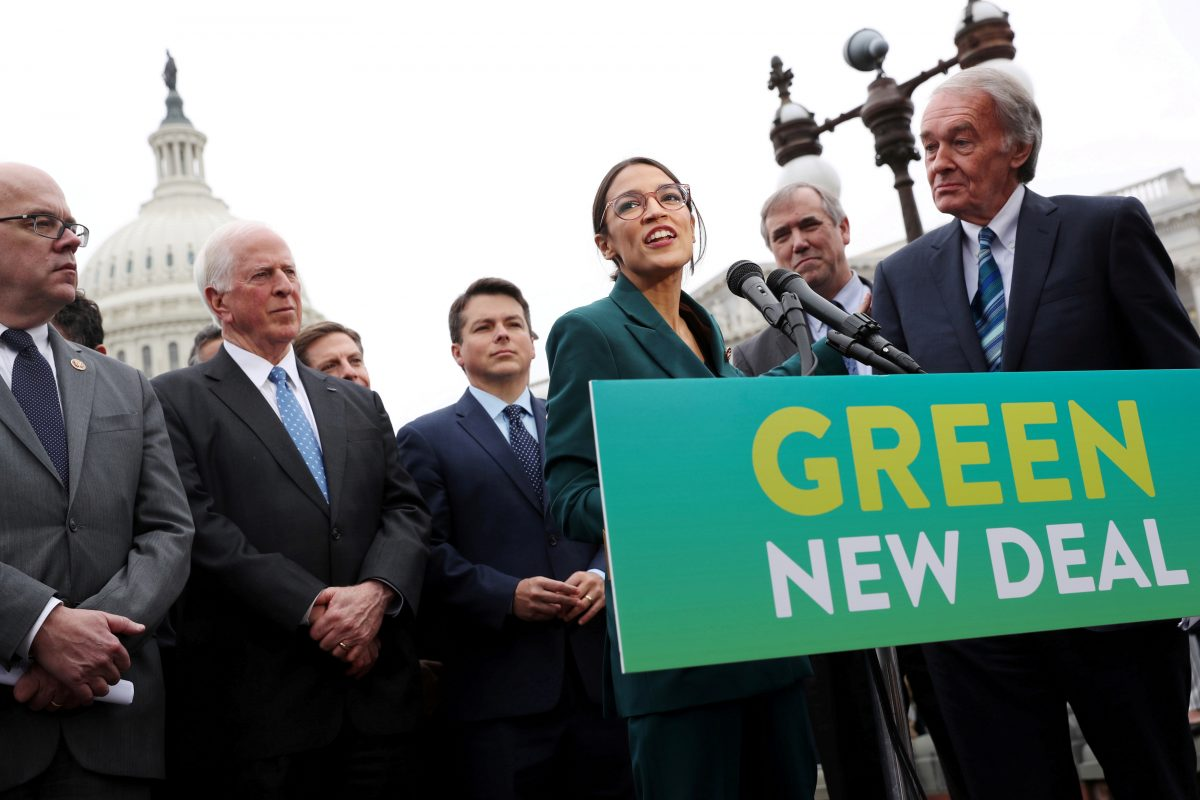 Image result for Senate Votes Down Green New Deal Resolution 0-57
