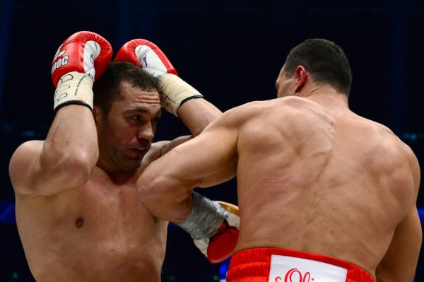 Kubrat Pulev defends kissing female journalist 'friend' in post-fight interview