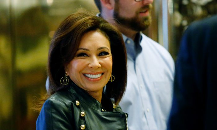 Jeanine Pirro, arrives at the Trump Tower for meetings with U.S. President-elect Donald Trump, in New York on Nov. 17, 2016.  (Eduardo Munoz Alvarez/AFP/Getty Images)