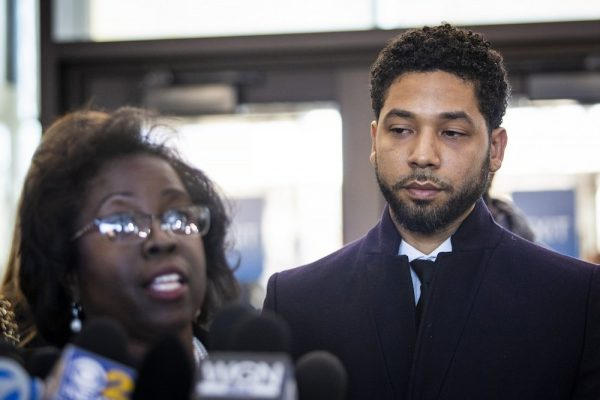 Empire cast urge bosses to bring 'innocent' Jussie Smollett back