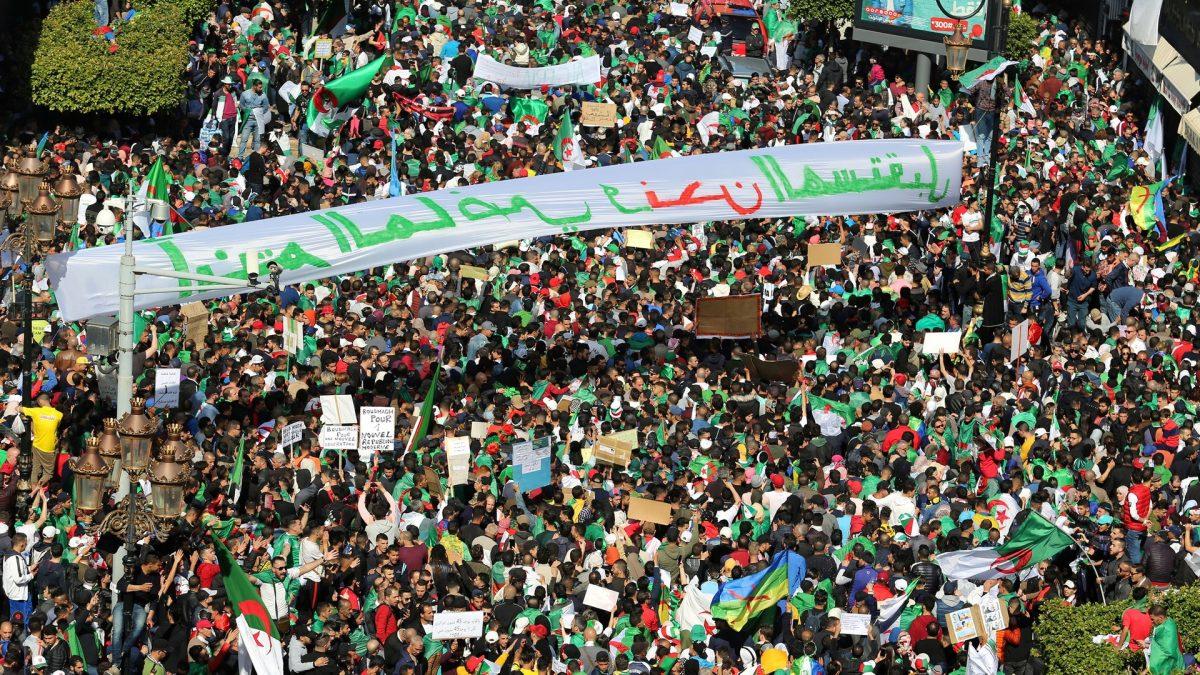 March against Algeria's Bouteflika
