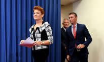 Pauline Hanson Says NRA Scandal is First Case of Severe Foreign Political Interference in Australia