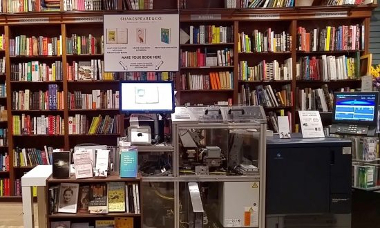 Print a Book at Your Local Bookstore, in Mere Minutes