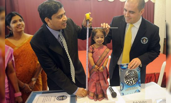 'World's Smallest Woman' With the Height of 24 Inches Aspires to Be an Actress
