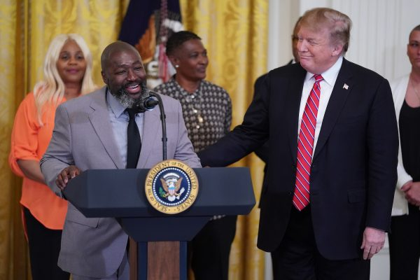 Matthew Charles and President Trump