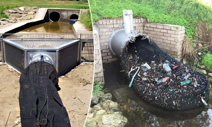 Have You Seen Nets Hooked to Stormwater Pipes? This Genius Trick Is What the World Needs