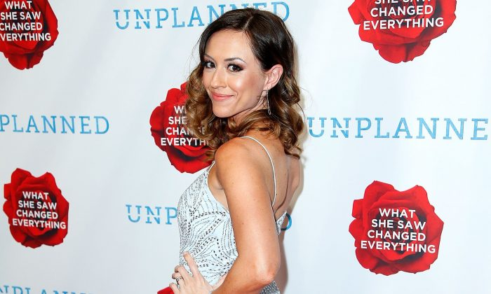 Ashley Bratcher attends 'Unplanned' Red Carpet Premiere in Hollywood, Calif., on March 18, 2019. (Maury Phillips/Getty Images for Unplanned Movie, LLC)