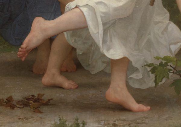 La Jeunesse de Bacchus-feet