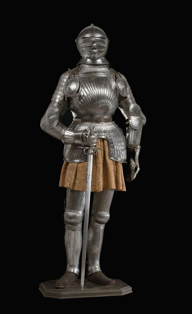German suit of armor