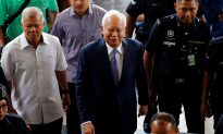 Malaysia's Former PM Najib in the Dock for Three Hours as 1MDB Graft Trial Begins