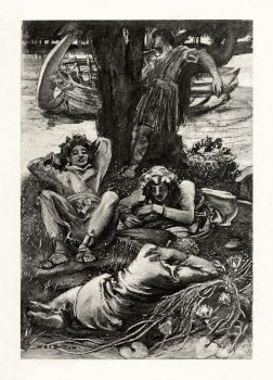 W.E.F._Britten_-_The_Early_Poems_of_Alfred,_Lord_Tennyson_-_The_Lotos-Eaters