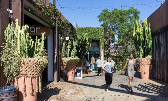 In Costa Mesa, California, a Shopping Mall That Thinks Small