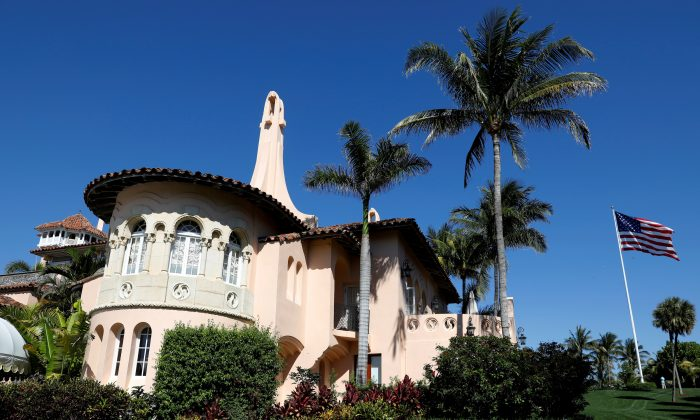 President Donald Trump's Mar-a-Lago estate in Palm Beach, Florida, U.S. on March 22, 2019. (Kevin Lamarque/Reuters)