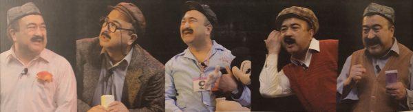 Uyghur comedian Adil Mijit