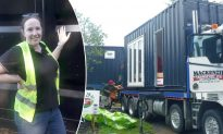Lady Spends Over $81,000 to Transform Shipping Container Into Award-Winning Tiny Cozy Home
