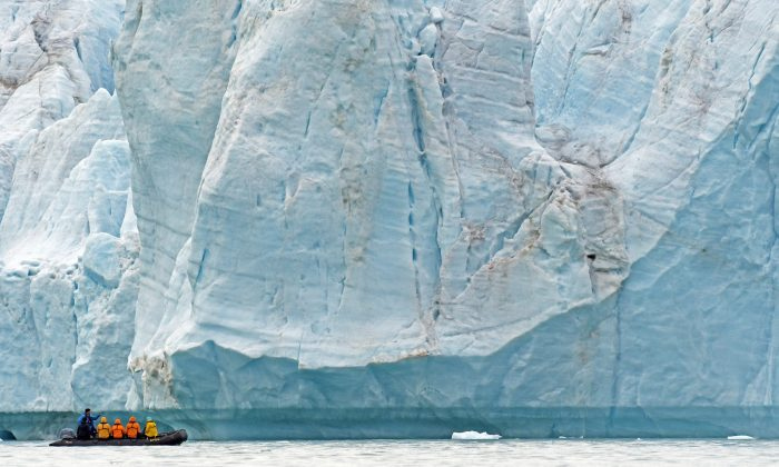 The Croker Bay, Nunavut. (Andre Gallant)