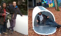 Engineer Invents Igloo-like Shelters for Homeless That Retain Body Heat During Winter