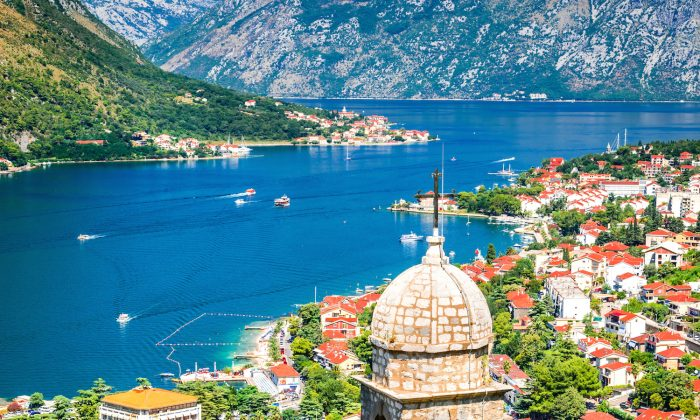 The Bay of Kotor boasts tiny villages, medieval towns, and scenic mountains. (cge2010/Shutterstock)