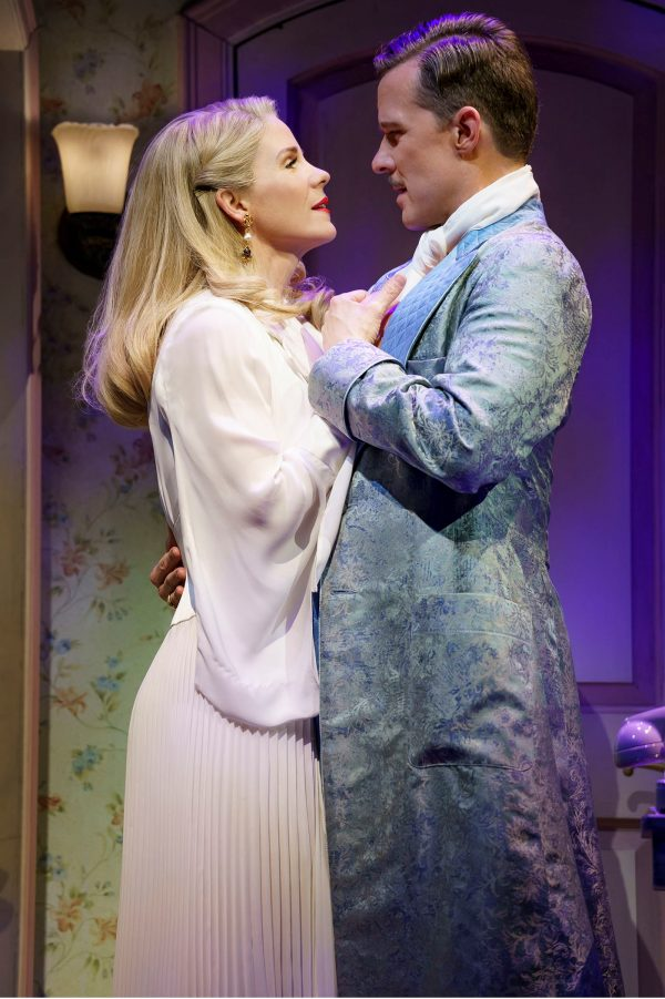 Kelli O'Hara and Will Chase