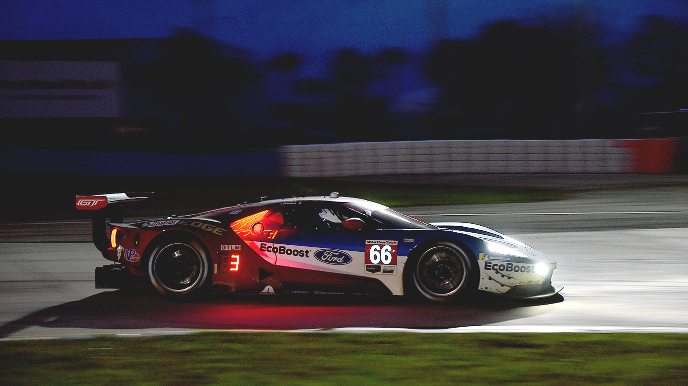 The #66 Ford inherited second place in GTLM.