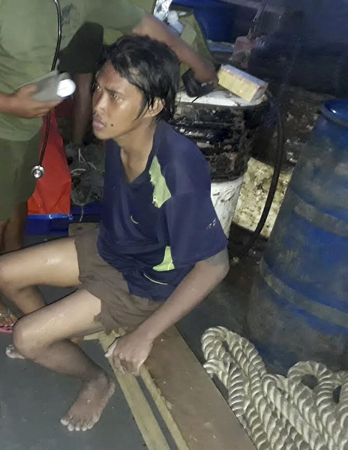 Indonesian hostage Heri Ardiansyah