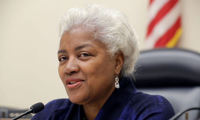 Former Democratic National Committee chairperson Donna Brazile participates in a panel discussion about Women's History Month in the Rayburn House Office Building on Capitol Hill March 19, 2019 in Washington, DC.  Chip Somodevilla/Getty Images