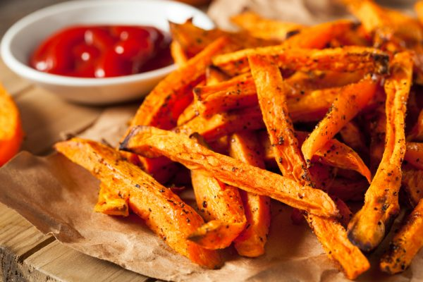 Potato Fries accelerate aging