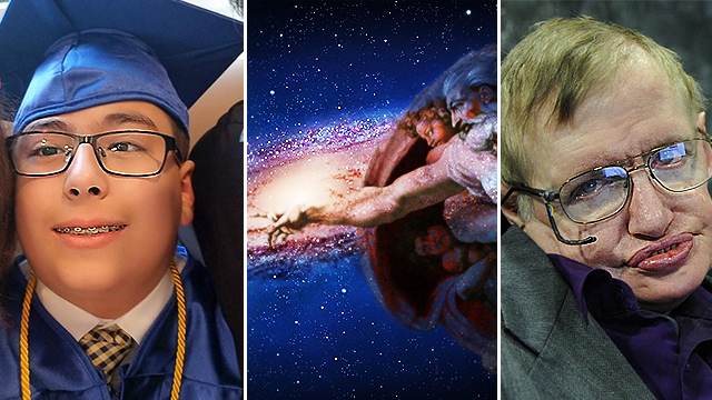 11-Year-Old Astrophysics Genius 'Proves' Stephen Hawking Wrong About God