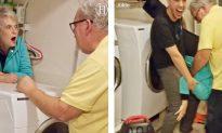 Grandma Gets Stuck Behind the Dryer–Her Escape Plan Leaves the Entire Internet Cry-Laughing