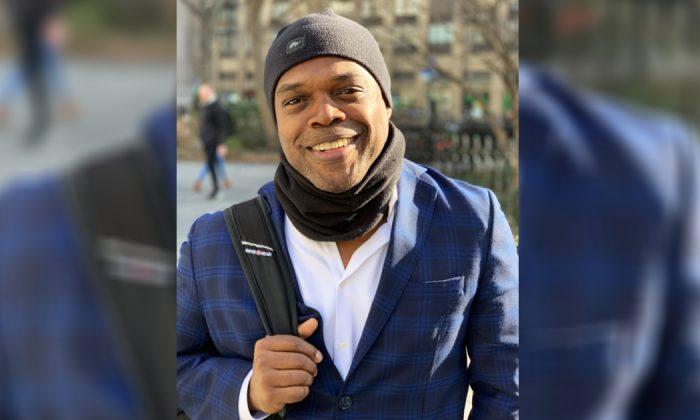 Ty Jones in New York on March 22, 2019. (Stuart Liess / The Epoch Times)