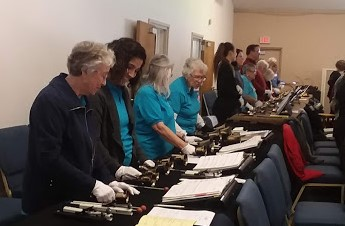 The Sacramento Spring Ring handbell event has returned for the first time in 10 years. (Beth Lambert/The Epoch Times)