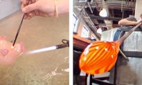 Watch How 2000°F Glass Is BLOWN Into Amazing Works of Art