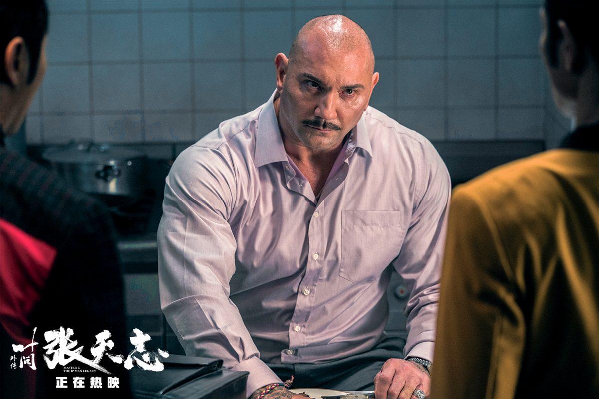 Big bald headed man