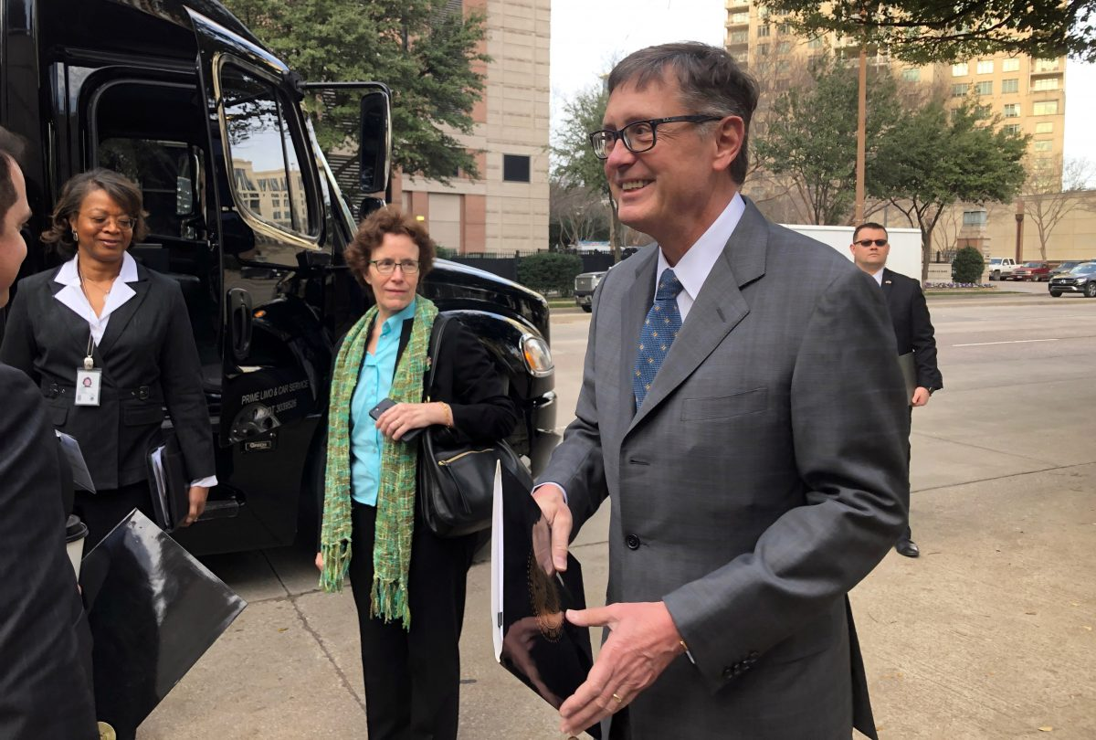 Federal Reserve Vice Chairman Richard Clarida in Dallas