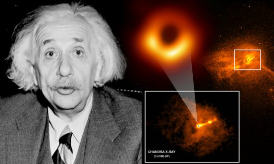 Historic Image of Black Hole Said to Prove Einstein's Theory of Relativity