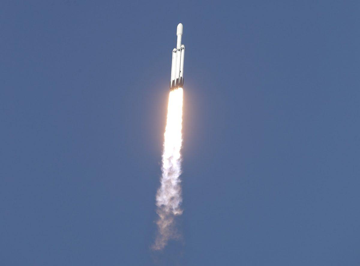 SpaceX Falcon Heavy rocket