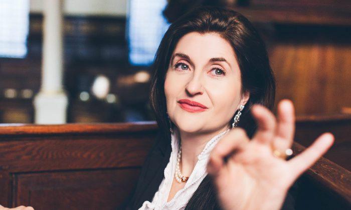 International opera conductor, prizewinning harpsichordist and early music specialist Bridget Cunningham. (Victoria Cadisch)