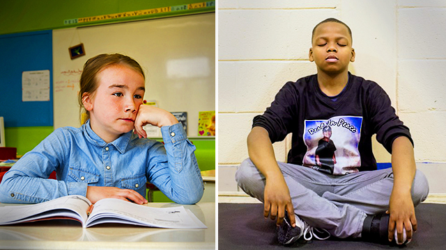 Elementary School Swaps Detention Period for Meditation, and the Results Are Stunning